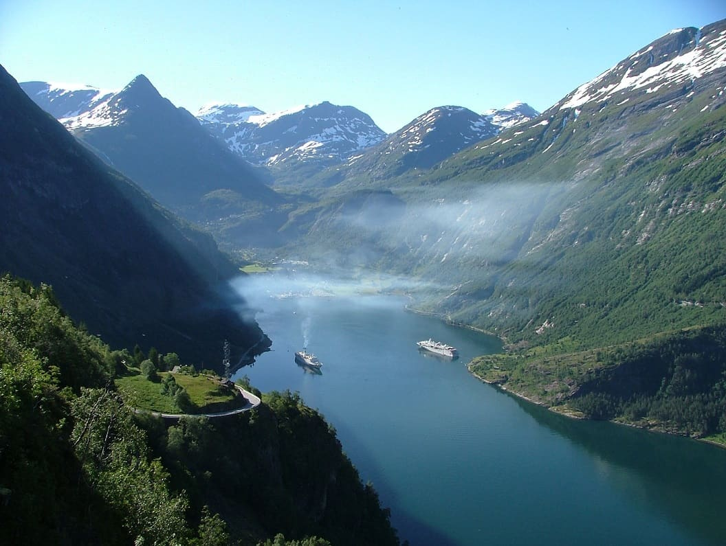 norsk fjord