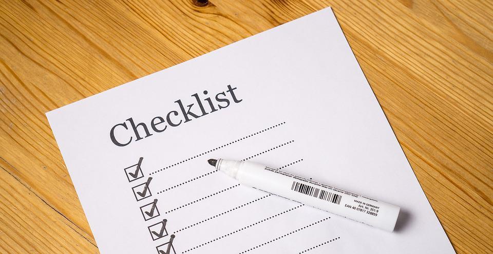 Checklista bilsemester