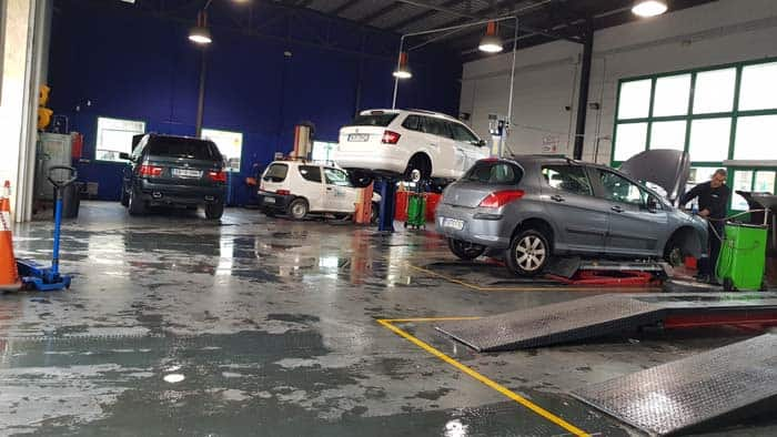 bilverkstad service