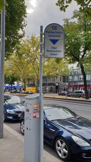 parkering i Berlin